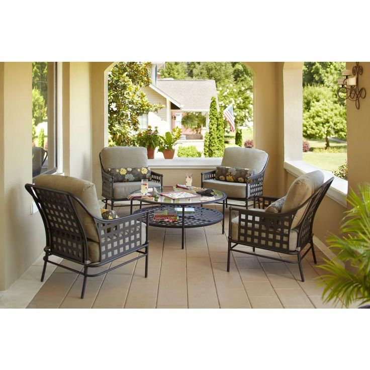 Relax on your outdoor porch or patio in style with this Hampton Bay  Lynnfield 5. 308 best Outdoor Living images on Pinterest