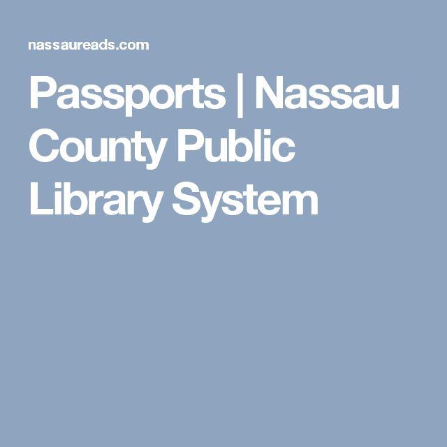 Passports   Nassau County Public Library System