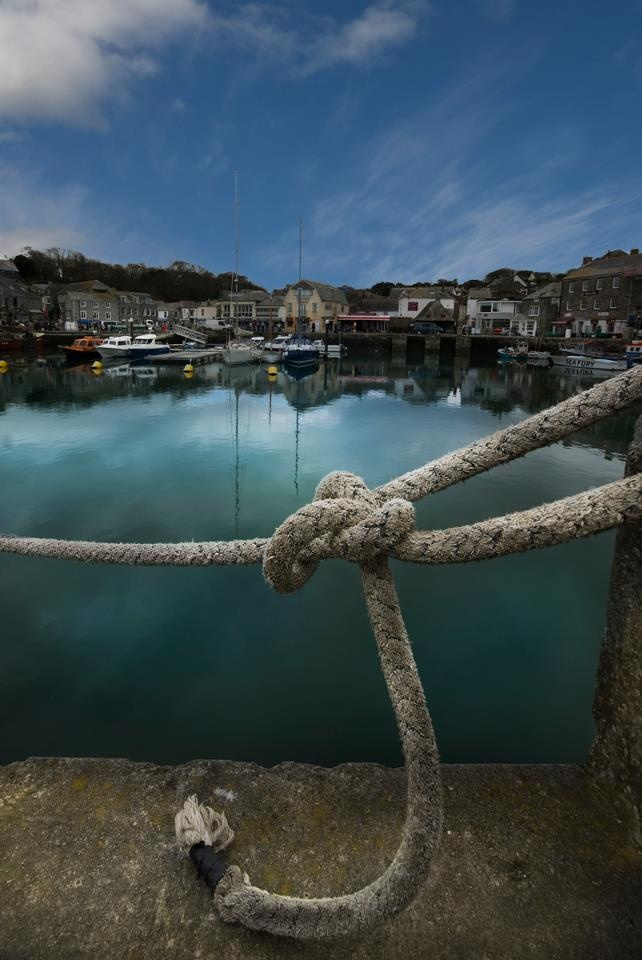 Padstow-- a tiny seaside English town