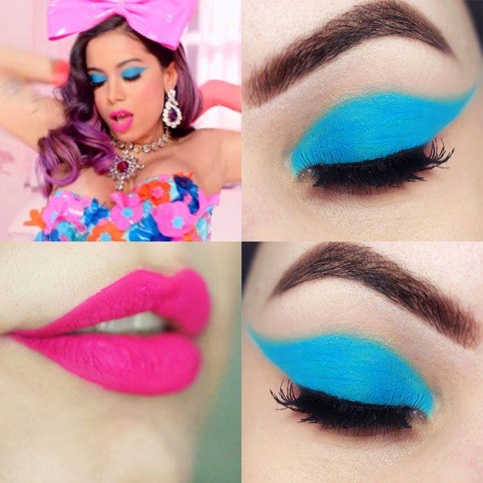 Tutorial Carnaval 2016 – maquiagem Anitta Essa Mina é Louca