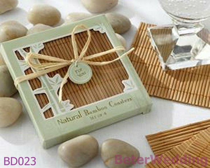 BeterWedding wholesale BD023_Natural Bamboo Eco-Friendly Coaster Favors use as Wedding Decoration  #weddingfavors, #babyshowerfavors, #Thank you gifts #weddingdecoration #jars #weddinggifts #birthdaygift #valentinesgifts #partygifts #partyfavors #novelties #Souvenirs #BeterWedding