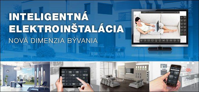 iNELS - inteligentná elektroinštalácia pre Váš dom