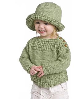 Craft Passions: BOAT NECK KNITTED SWEATER AND HAT First and foremo...