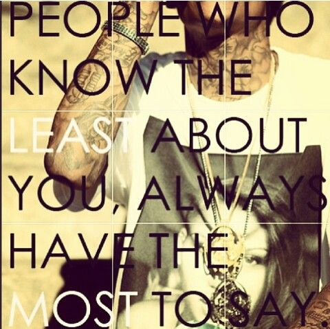 Ain'T that the truth.  Haters quote