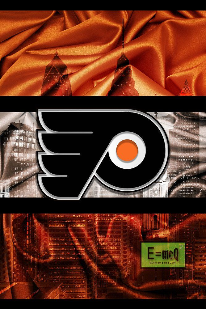 Philadelphia Flyers Hockey Poster, Flyers Hockey Print, Philly Flyers                       – McQDesign