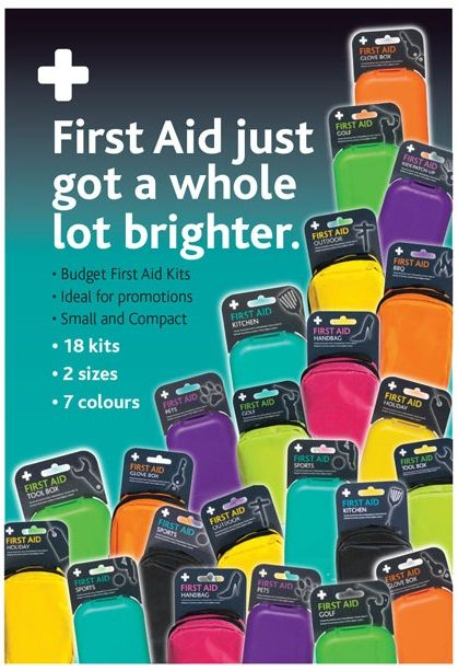 We are soon stocking these Funky First Aid kits. Prices TBC, but they will be available to purchase at classes!