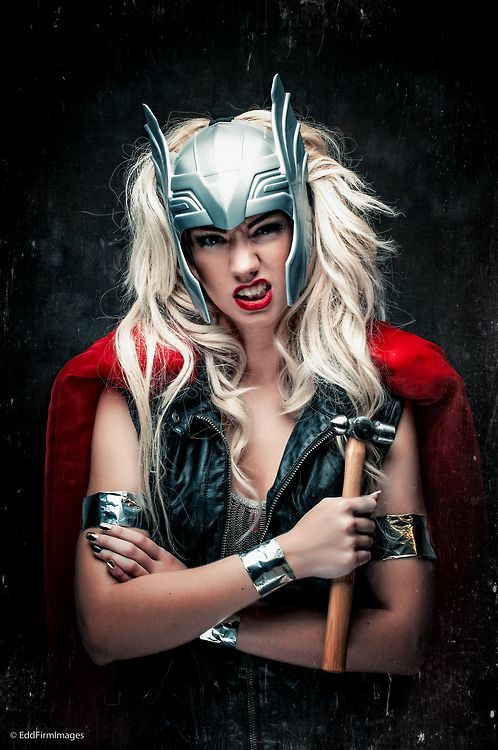 Thor Cosplay, by AmayahLouise ● Tumblr