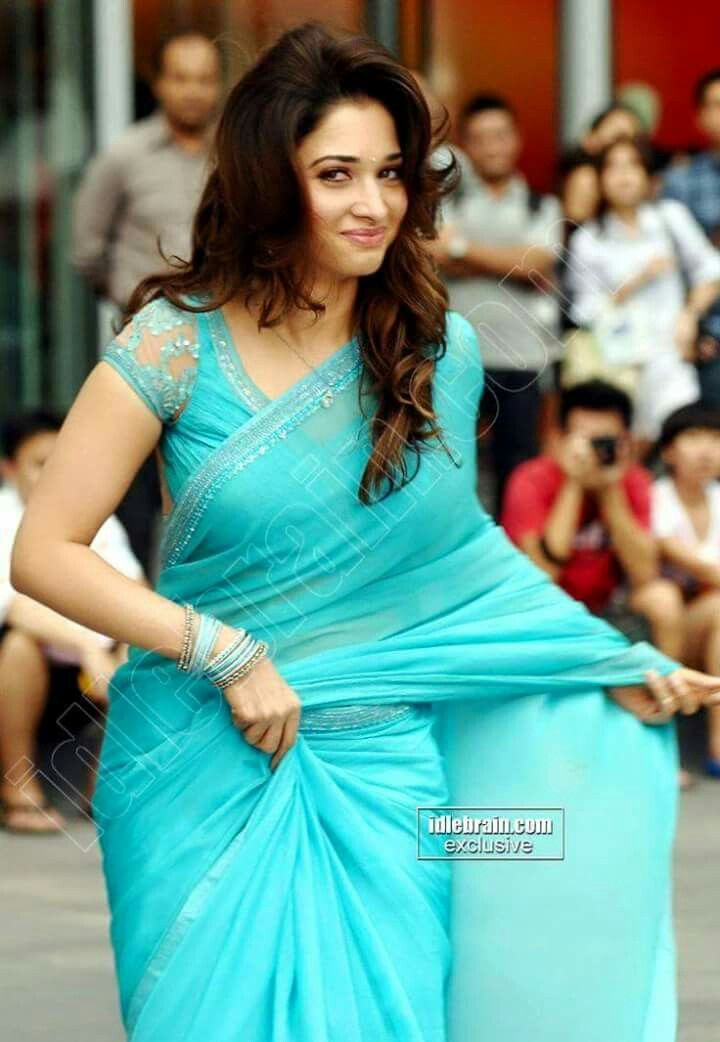 Tamanna in Saree | Tamanna | Saree dress, Indian sarees ...