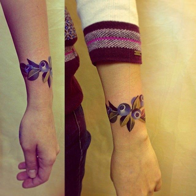 Sasha Unisex #blueberries #bracelet #tattoo I Am So