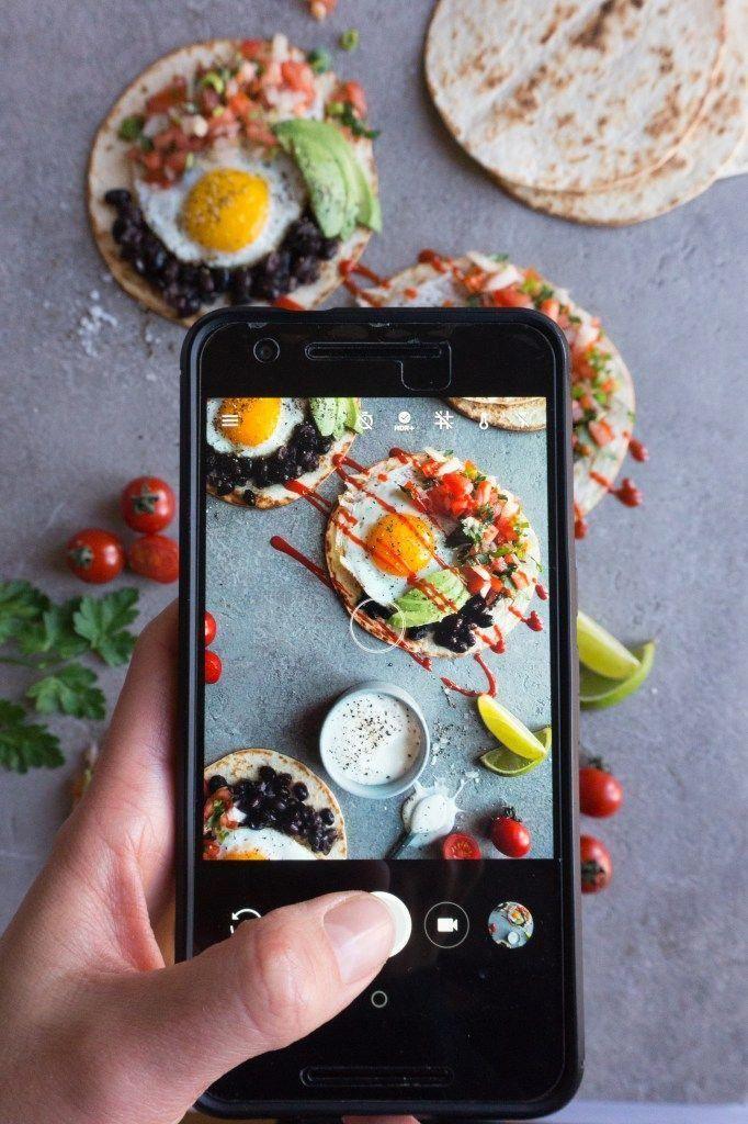 Как фотографировать еду для инстаграмма трёхсекционный