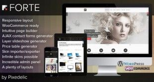 Forte v2.9.0 - Multipurpose WordPress Theme