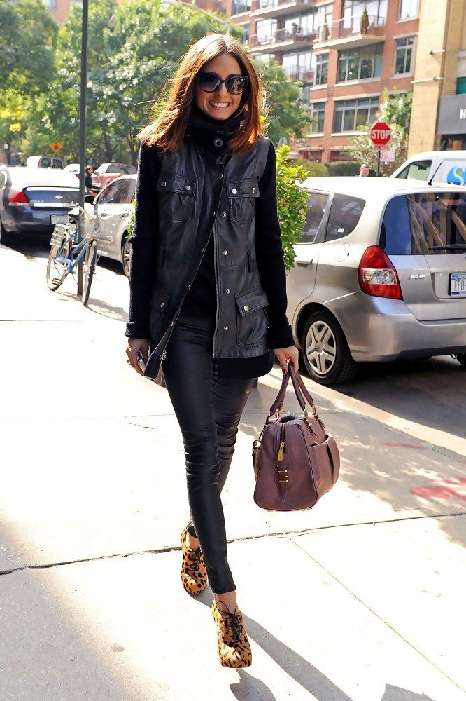 Olivia Palermo - street style NYC