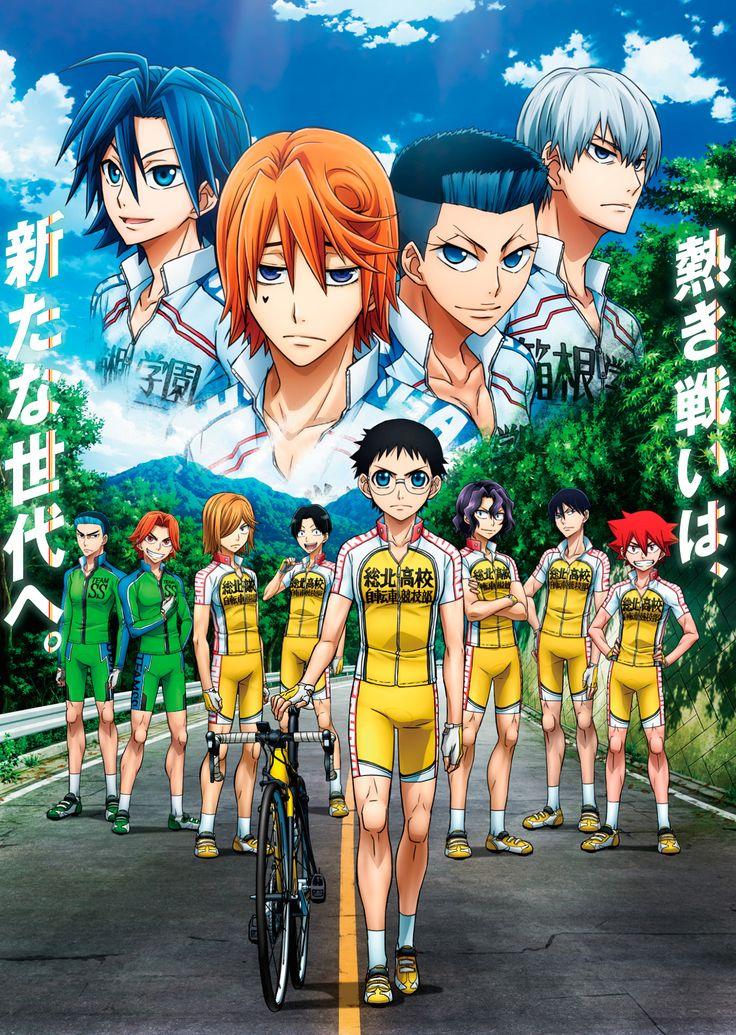 Takaaki Natsuhiro y Saeki YouthK pondrán los temas musicales del Anime Yowamushi Pedal New Generation.