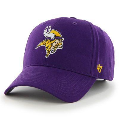 sale retailer eb57c 51f21 ... spain youth 47 purple minnesota vikings ac basic adjustable hat 69cb6  1c0d0