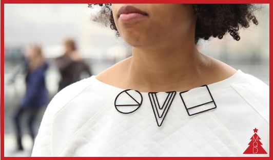 17th DECEMBER LessIS by Maria Jennifer Carew to give to: minimalist, fashionist, geek, 3D print addicted LessIS is a collection of pendants born from the idea of simplifying as much as possible the...