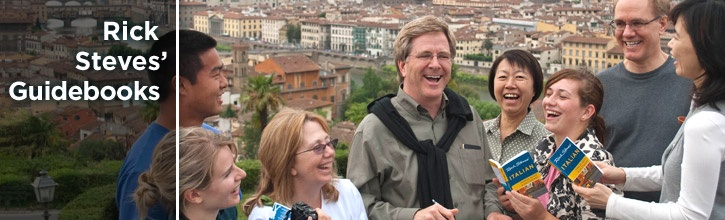 Rick Steves.   You know you love him.