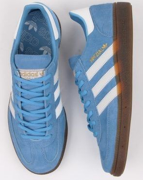 Adidas Handball Spezial Trainers Green, Orange | 80s casual ...