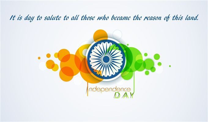 Happy Independence Day Greeting Message Photo Download