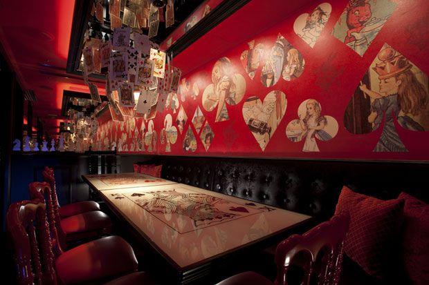 Alice in Wonderland Restaurant in Tokyo
