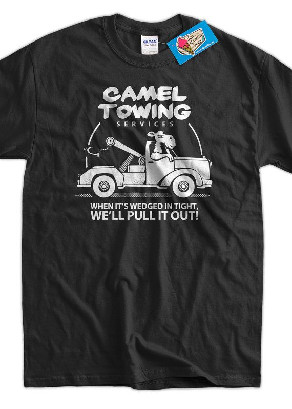 OMG!!! Funny Camel T-Shirt Gifts For Guys Camel Towing T-Shirt Gifts for Dad Screen Printed T-Shirt Tee Shirt T Shirt Mens Ladies Womens on Etsy, $14.99