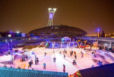 Montreal's Olympic Stadium Will Have A Skating Rink This Winter !!