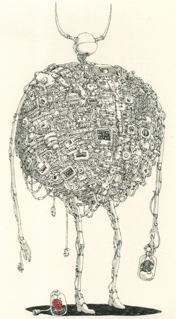 Les Sketchbooks de Mattias Adolfsson