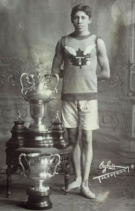 Tom Longboat - Canadian long distance runner. Dominant distance runner of his time. Joined armed forces and fought for his country.