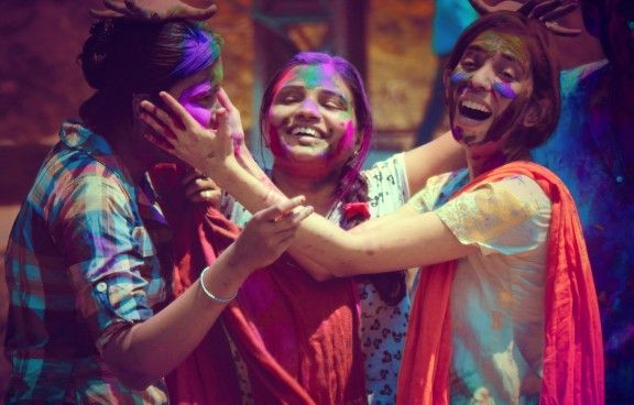 Festival of colours holi! #holi #festivals
