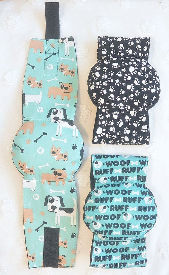 Male Dog  Belly Band Diapers Stop Marking many by piddleronthewoof, $25.00
