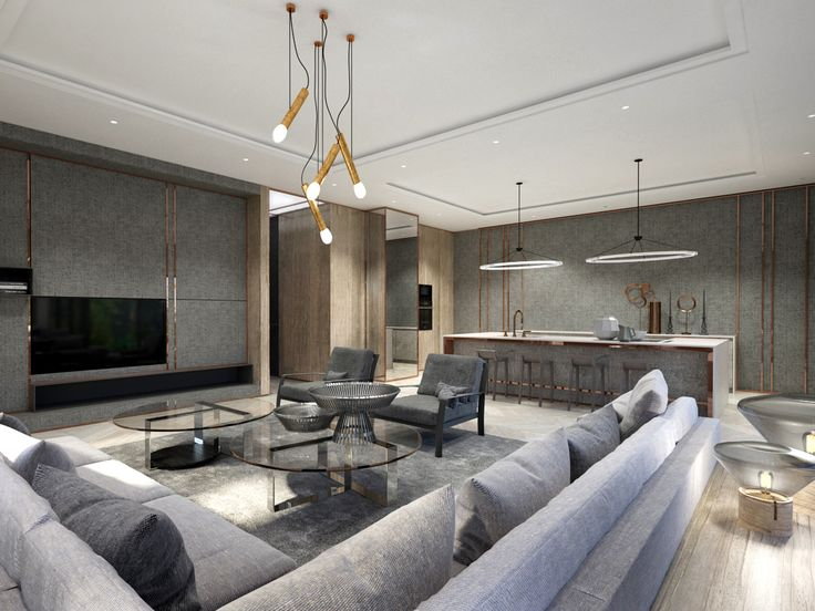 WARSAW GREY MODERN 2, project by EXITDESIGN
