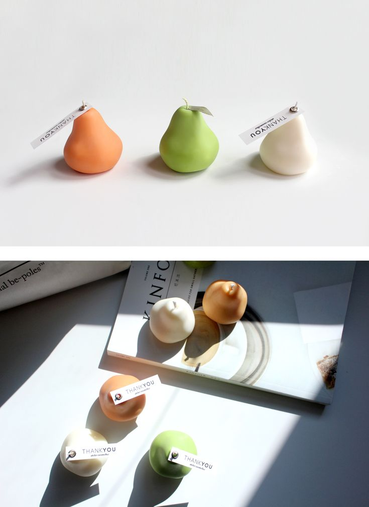 Don't eat European pear candles. They will last longer than real fruits.   #candle #design #nature #interior #europeanpear #handmade #atelier #cocomellow #캔들 #캔들공방 #서양배캔들 #코코멜로우
