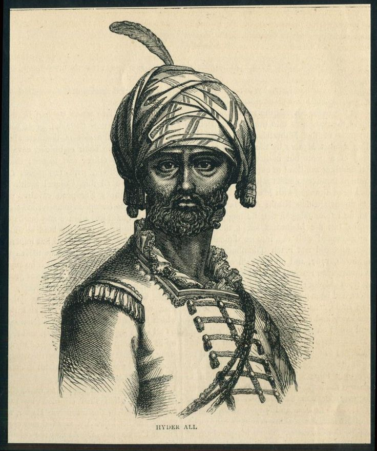 Hyder Ali, sided with the French following the annexation of lands belonging to one of his dependents by the British. His 90,000 strong army defeated a British-Indian force at Parambakum on 10 September 1780. Sir Eyre Coote was then sent against Hyder Ali with a larger force. He defeated him at Porto Novo on 1 July and Pollilore on 27 August 1781. Coote was again victorious at Sholinghur on 27 September 1781, but the war dragged on with neither side able to claim a decisive victory.