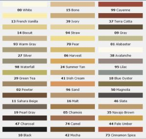 What One Small Secret Can Transform Your Tile?: Mapei Grout Color Chart