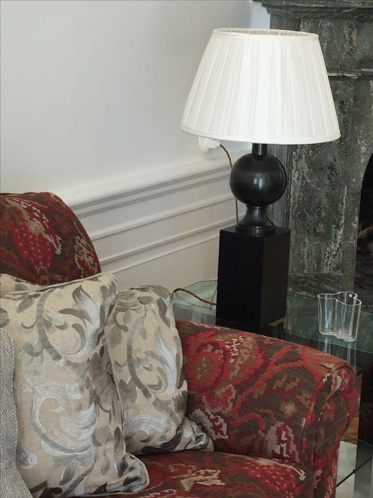 Bordslampa, Vaughan, kuddar, skräddarsydda, Mulberry Home