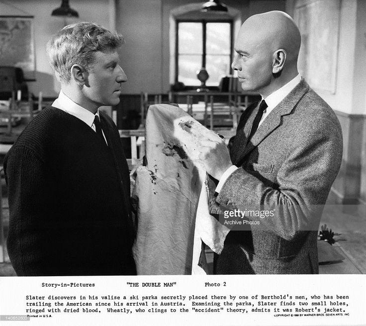 Sixties | Clive Revill and Yul Brynner in The Double Man, 1967