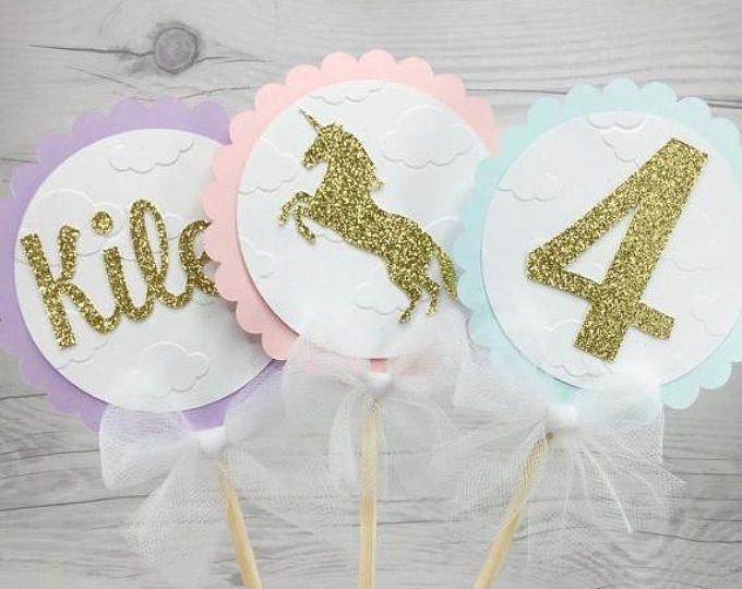 EN venta unicornio centro, cumpleaños Unicornio, unicornio partido, decoraciones del unicornio - Pegaso - cumpleaños - Baby ducha