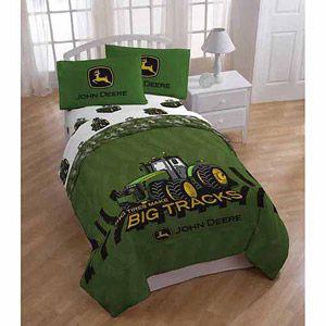 John Deere Twin and Full Bedding Comforter  http://mobile.walmart.com/ip/34890749?wmlspartner=wlpa&adid=22222222228024164908&wl0=&wl1=g&wl2=m&wl3=42534775112&wl4=&wl5=pla&wl6=81191586512&veh=sem