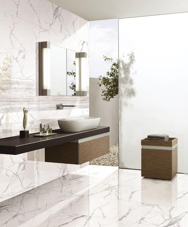 Statuario bathroom. Statuario Series (SAT1200).