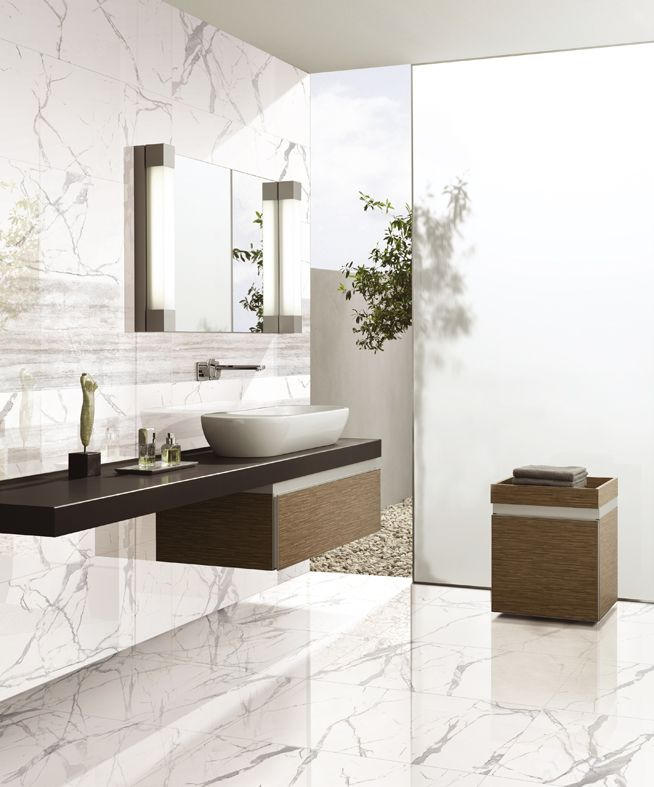 Statuario bathroom. Statuario Series (SAT1200).