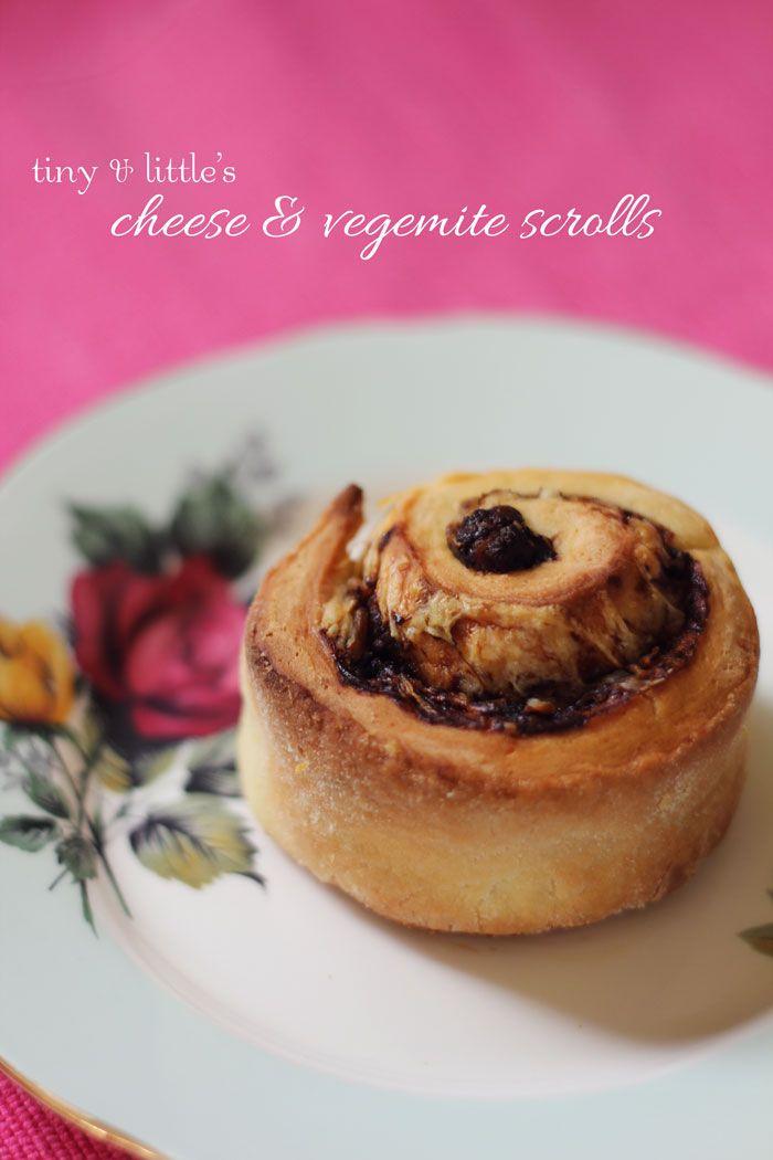 Cheese & Vegemite Scrolls