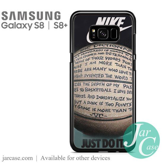 nike basketball quote Phone Case for Samsung Galaxy S8 & S8 Plus