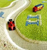 3D F1 Rug (available in 2 sizes)