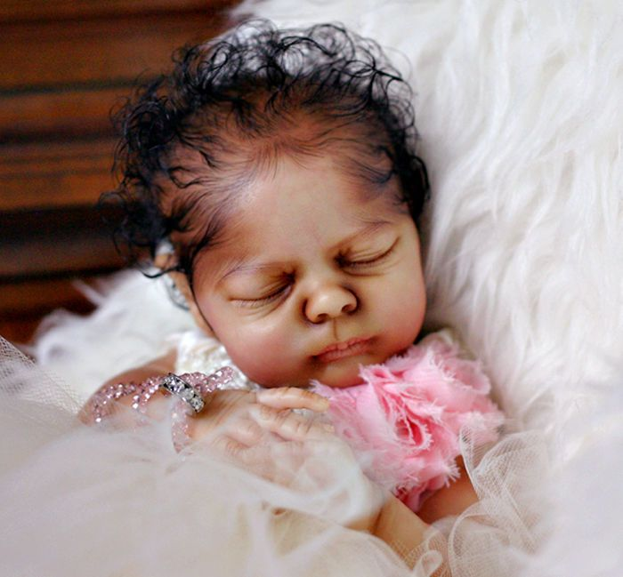 Reborn clover prototype realborn fairy a a aa ethnic biracial by brooke nicole