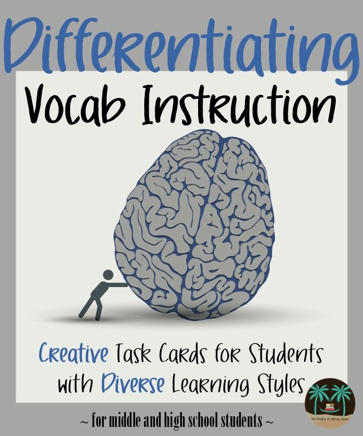 These task cards will get students moving, talking, and interacting with almost any vocab list!