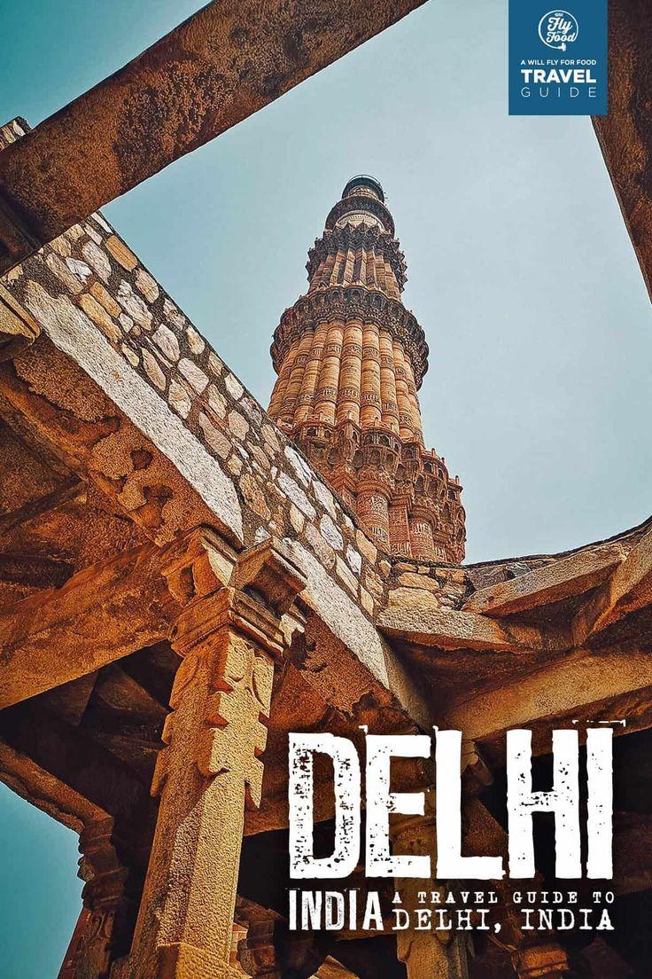 Le guide de voyage du premier jour à Delhi, Inde (2019 Delhi est l'un des mo …