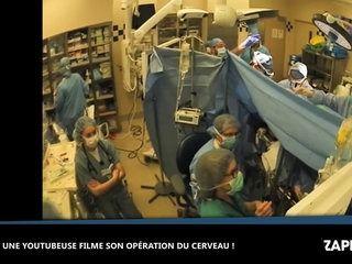 Une youtubeuse filme l'ablation de sa tumeur au cerveau (Vidéo)