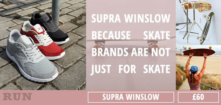 The Supra Winslow is taking the world by storm. Popular, modern, crisp.