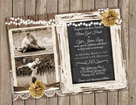 Lagunitas chicago wedding invitations
