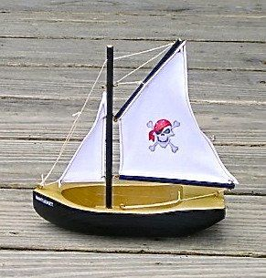 Pool Pirate Ship