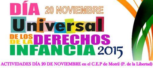 Motril conmemora este viernes el Día Universal de los Derechos de la Infancia